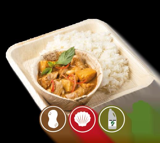 Massaman Chicken Curry with Rice